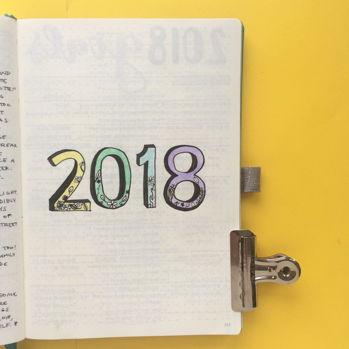 Plan With Me: Year-End Review and Bullet Journal Setup for January 2018